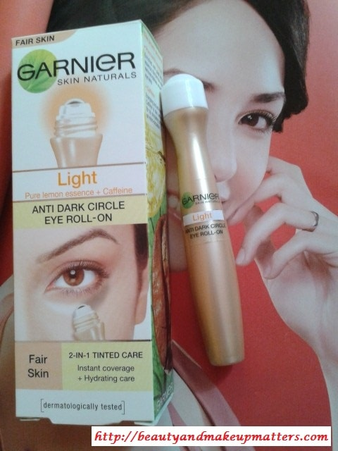 Garnier-Dark-Circle-Roll-On-Light-Review