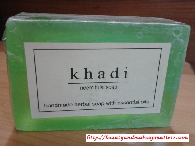 Khadi-Neem-Tulsi-Soap-Review
