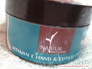 NaturalBathandBodyVitaminEHandandCuticleCreamPack