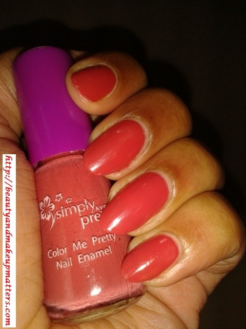 Avon-Simply-Pretty-Nail-Paint-Mango-Mania-Nail-Swatch
