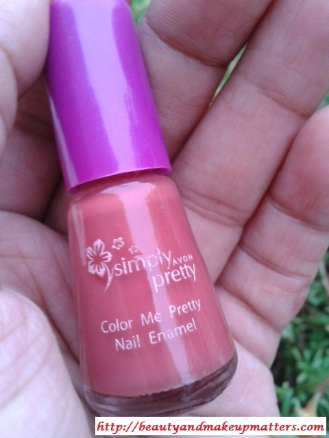 Avon-Simply-Pretty-Nail-Paint-Mango-Mania-Review