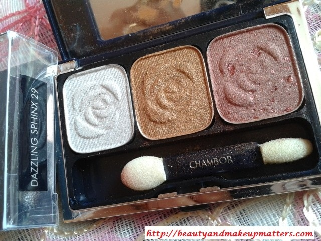 Chambor-Eye-shadow-Trio-Dazzling-Sphinx-Review