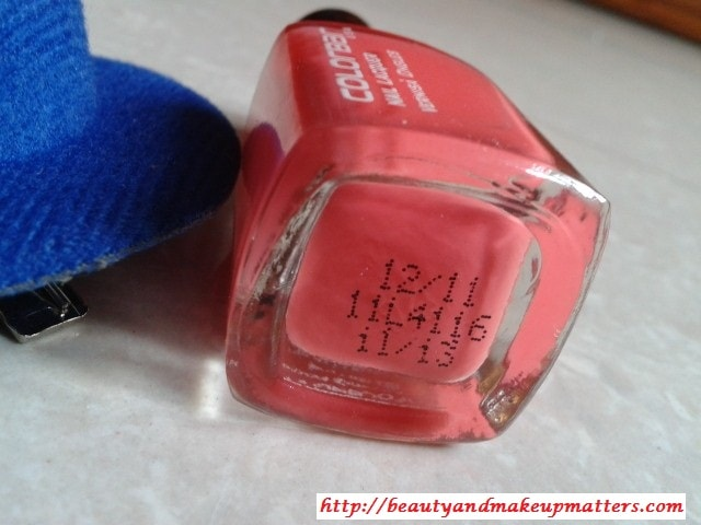 Colorbar-Nail-Enamel-Autumn-Rose-Review