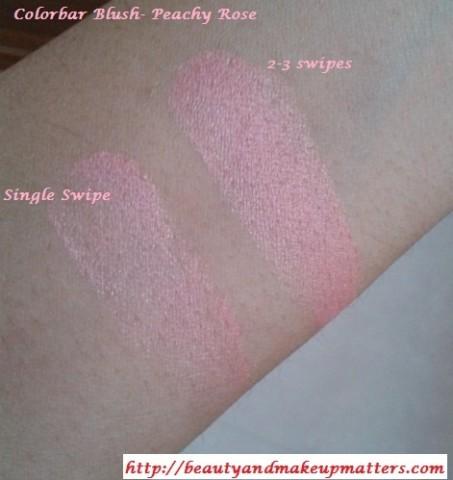 Colorbar-PeachyRose-Blush-Swatches