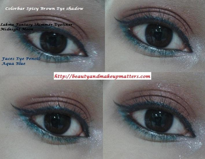 Colorbar-Spicy-Brown-Eyeshadow-EOTD
