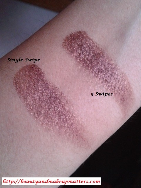 Colorbar-Spicy-Brown-Eyeshadow-Swatches