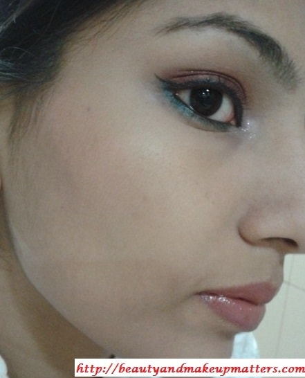 Colorbar-SpicyBrown-Eyeshadow-Look