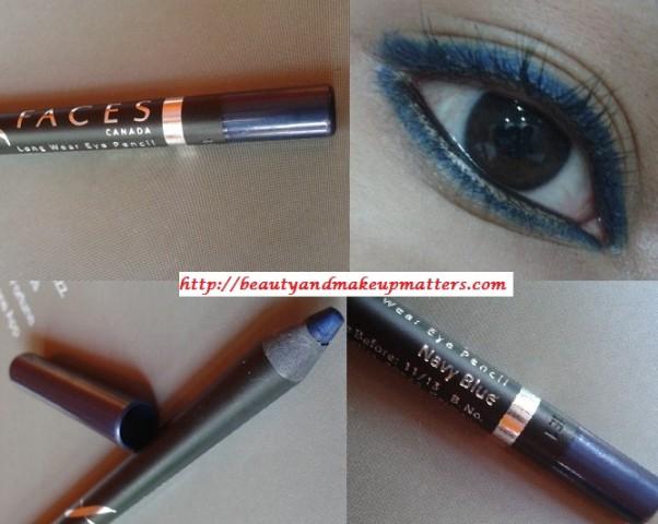 Faces-Canada-Eye-Liner-Navy-Blue-Look