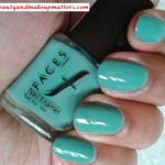 Faces Canada Nail Enamel Teal 03 Review Notd Beauty And Makeup Matters