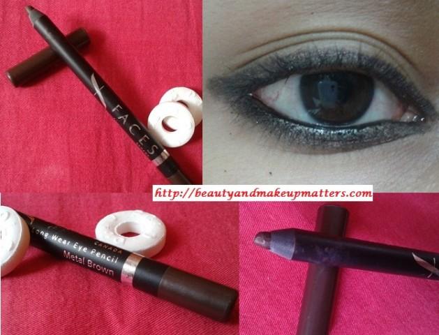 Faces-Long-Wear-Eye-Pencil-Metal-Brown-Look