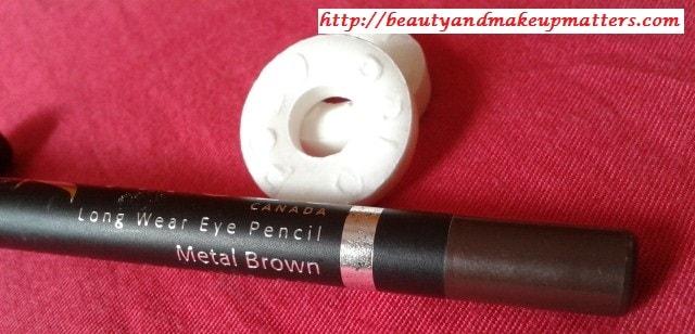 Faces-Long-Wear-Eye-Pencil-Metal-Brown-Review