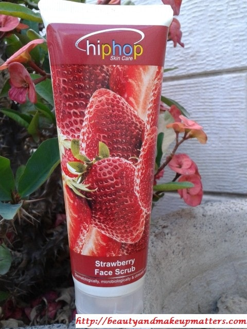 HipHop-Skin-Care-Strawberry-Scrub-Review