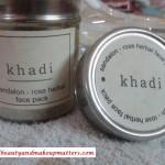 Khadi-Herbals-Sandalon-Rose-Face-Pack-Review