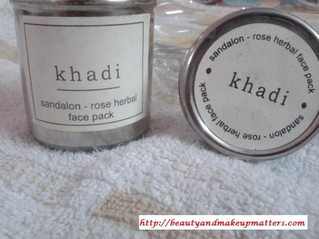 Khadi-Herbals-Sandalon-Rose-Face-Pack