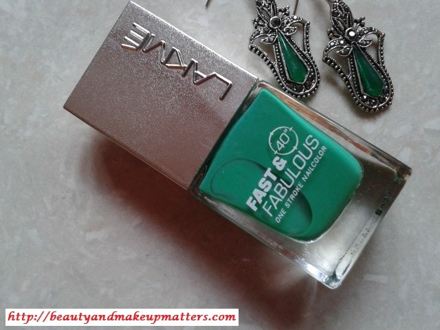 Lakme-Fast-and-Fabulous-Nail-Paint-GoingGreen-Review
