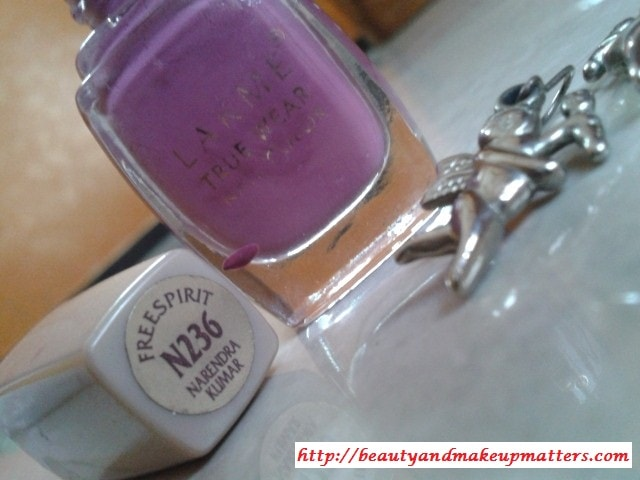 Lakme-True-Wear-Nail-Color-N236-Narendra-Kumar-Review