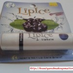 LipIceLipBalm-BlueBerry-Review