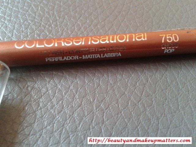 Maybelline-Color-Sensational-Lip-Liner-Choco-Pop-Review