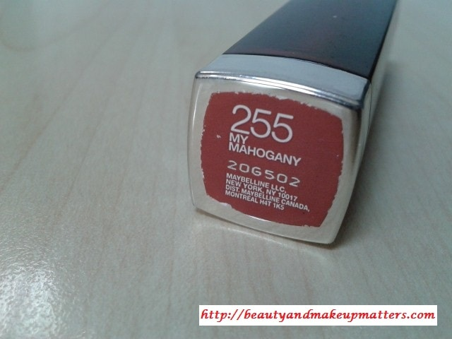 Maybelline-Color-Sensational-Lipstick-My-Mahogony