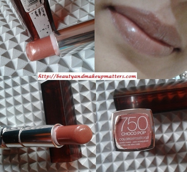 Maybelline-ColorSensational-Lipstick-Choco-Pop-Look
