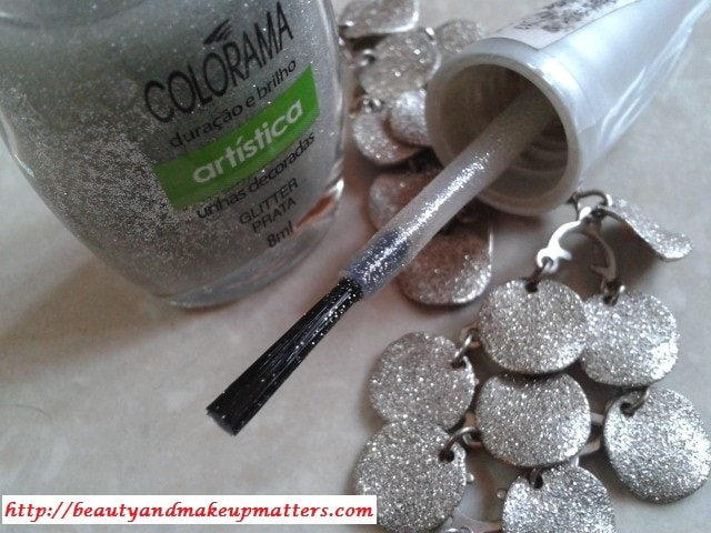 Maybelline-Coloroma-Nail-Paint-Glitter-Prata-Review