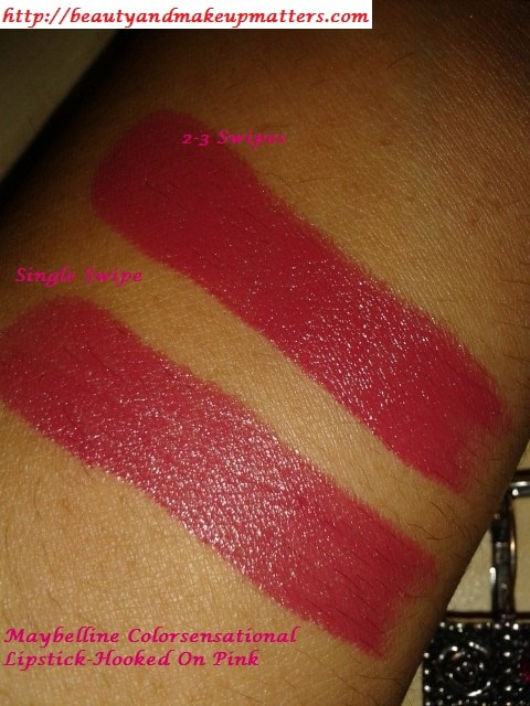 Maybelline-Colorsensational-Hooked-On-Pink-Lipstick-Swatches