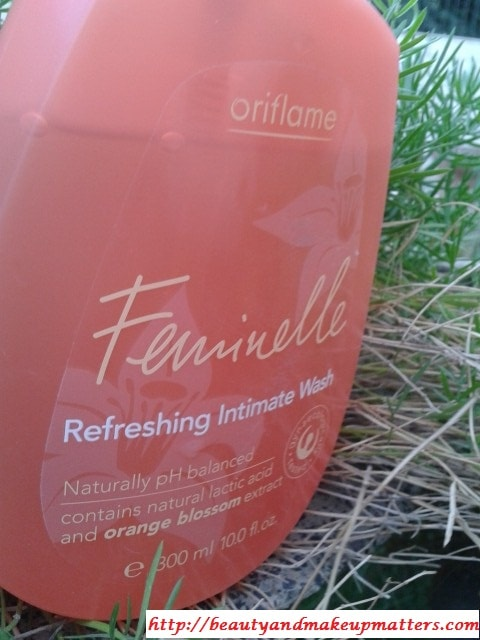Oriflame-Feminellle-Intimate-Wash-Review