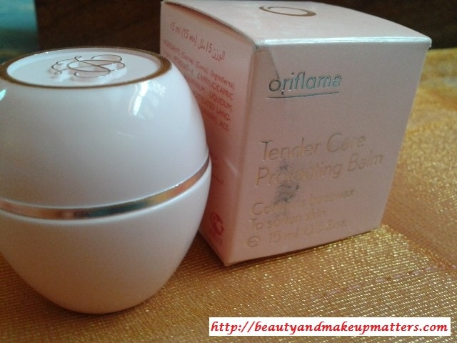 Oriflame-Tender-Care-Balm-with-Beeswax-Review