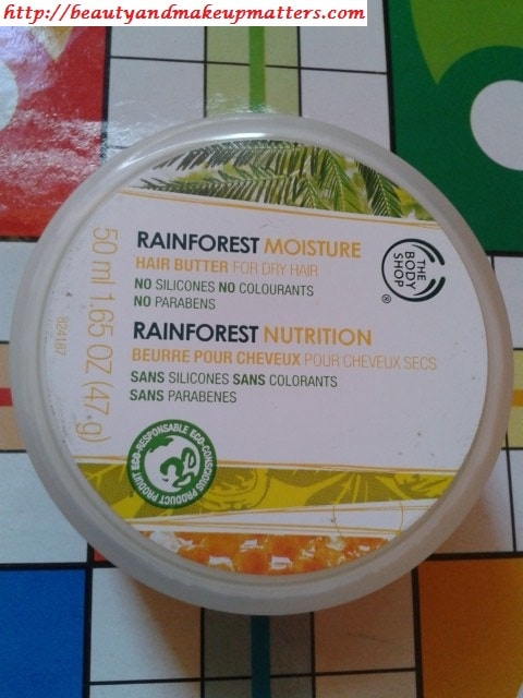 The-Body-Shop-RainForest-Moisture-Hair-Butter-Review
