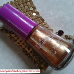 Avon-Simply-Pretty-Nail-Polish-Glitter-Gold-Review