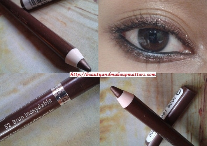 Bourjois-Regard-Effet-Metallic-Eye-Liner-Brown-Look