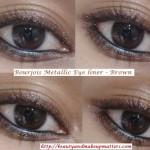 Bourjois-Regard-Effet-Metallise-Metallic-Eye-Liner-Brown-EOTD