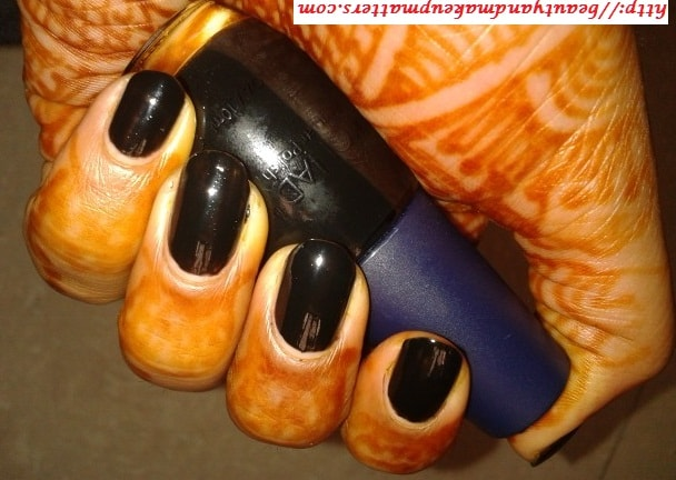 Konad-Nail-Polish-Solid-Black-NOTD