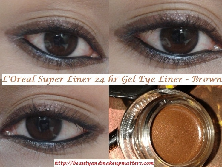 Loreal-Super-Liner-24Hr-Gel-Eye-Liner-Brown-EOTD