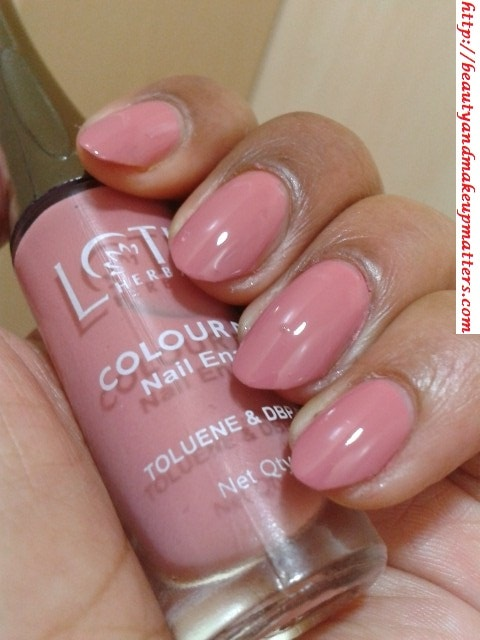 Lotus Herbals Color Dew Nail Enamel – Candy Drop Review, NOTD ...