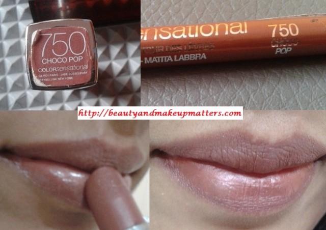 Maybelline-Color-Sensational-Choco-Pop-Lipstick-Lipliner-LOTD