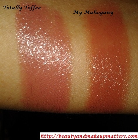 Maybelline-Color-Sensational-Lipstick-Totally-Toffee-and-My-Mahogany-Swatches