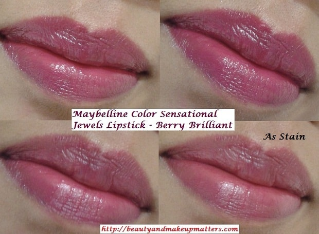 Maybelline-ColorSensational-Jewels-Lipstick-Berry-Brilliant-LOTD