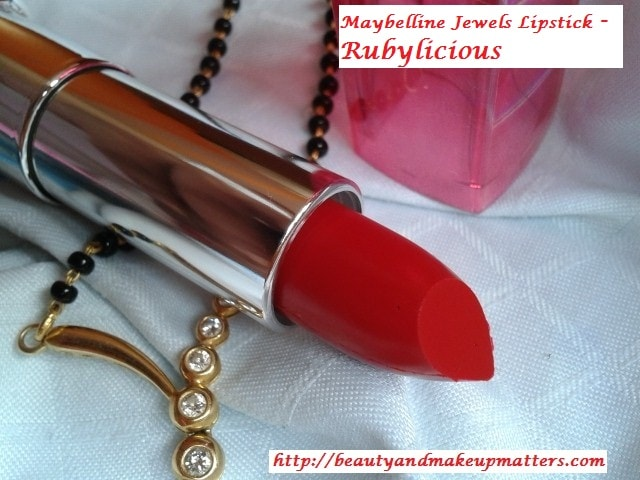 Maybelline-ColorSensational-Jewels-Lipstick-RubyLiocious-Review