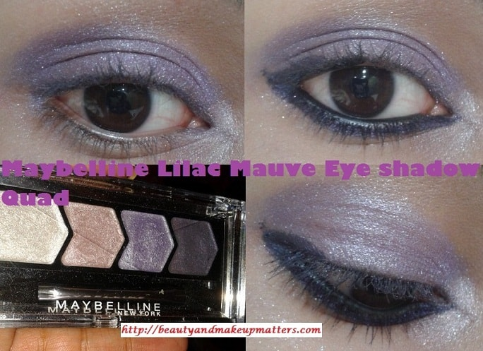 Maybelline-Diamond-Glow-Eye-Shadow-Quad-Lilac-Mauve-EOTD