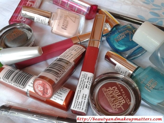 Maybelline-Shopping-Haul