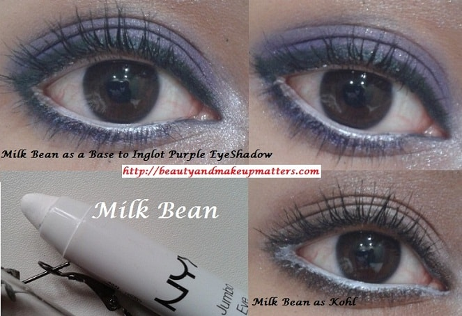 NYX-Jumbo-Eye-Pencil-Milk-Bean-EOTD