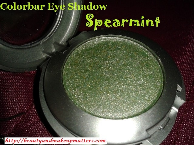 Colorbar-Eye-Shadow-14-Spearmint-Review