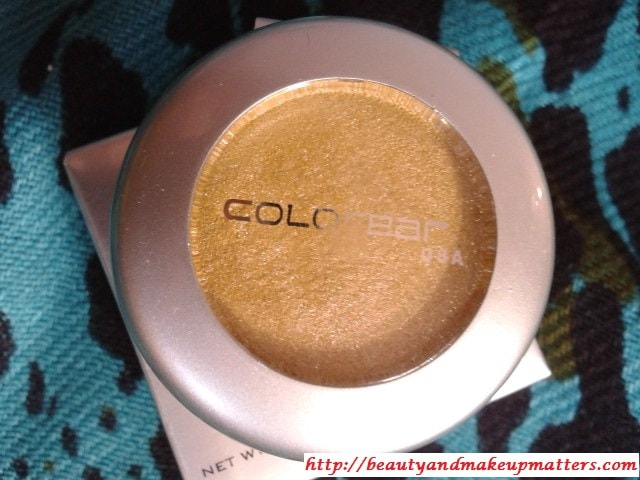 Colorbar-GorgeousGold-01-Eye-Shadow-Review