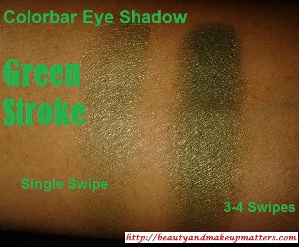 Colorbar-Single-Eye-Shadow-Green-Stroke-Swatch