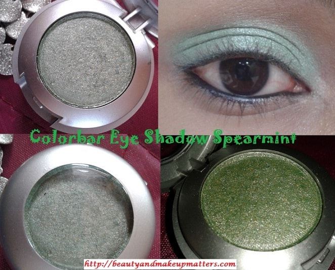 Colorbar-Single-Eye-Shadow-Spearmint-Look