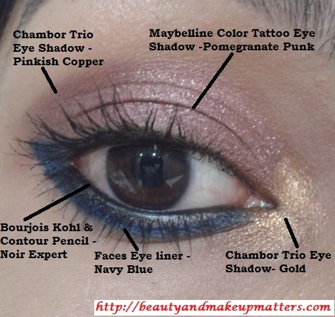 Eye-Look-with-Copper-Pink-Eyes-with-Blue-Eye-Liner
