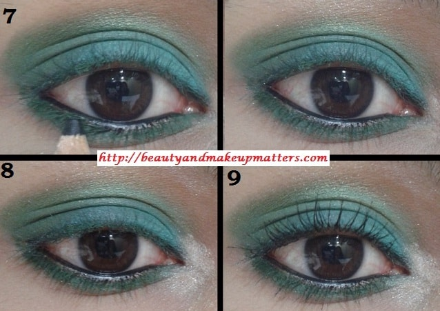 Eye-Makeup-Tutorial-Green-with-Envy-Eyes-Look2