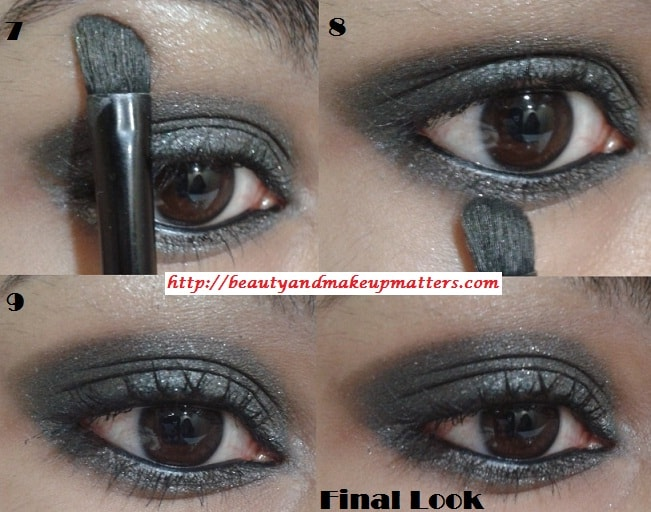Eye-Makeup-Tutorial-Greyish-Black-Shimmery-Smokey-Eyes-Look3