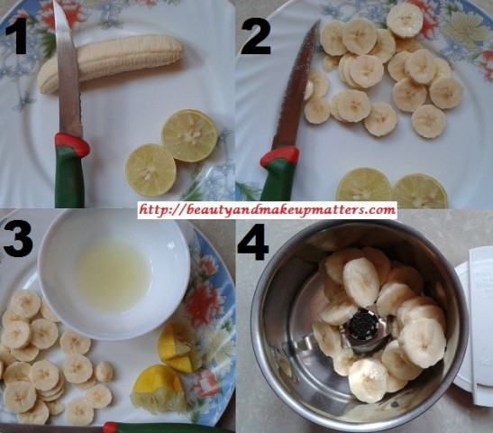 HomeMade-Banana-And-Lime-Juice-Face-Pack-Steps